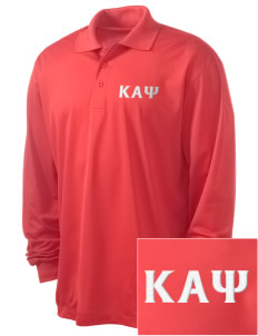 Kappa Alpha Psi Embroidered Men's Long Sleeve Micropique Sport-Wick Sport Shirt
