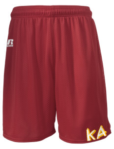 "Kappa Alpha Society  Russell Men's Mesh Shorts, 7"" Inseam"
