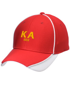 Kappa Alpha Society Embroidered New Era Contrast Piped Performance Cap