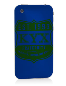 Kappa Upsilon Chi Apple iPhone 3G/ 3GS Skin