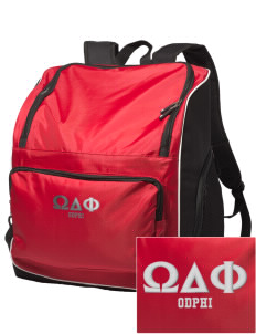 Omega Delta Phi Embroidered Holloway Backpack