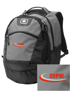 Omega Delta Phi Embroidered OGIO Rogue Backpack