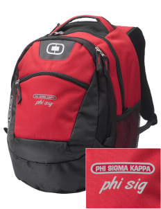 Phi Sigma Kappa Embroidered OGIO Rogue Backpack