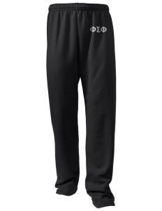 Phi Sigma Phi Embroidered Holloway Men's 50/50 Sweatpants