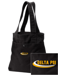 Delta Psi Embroidered Alternative The Berkeley Tote