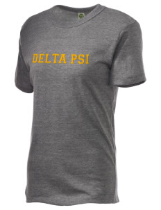 Delta Psi Embroidered Alternative Unisex Eco Heather T-Shirt