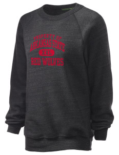 Arkansas State University Red Wolves Unisex Alternative Eco-Fleece Raglan Sweatshirt