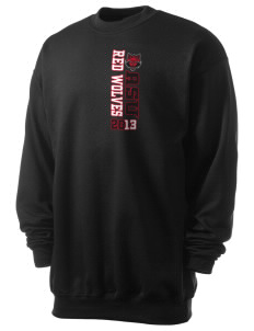 Arkansas State University Red Wolves Men's 7.8 oz Lightweight Crewneck Sweatshirt