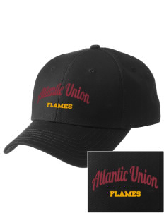 Atlantic Union College Flames  Embroidered New Era Adjustable Structured Cap