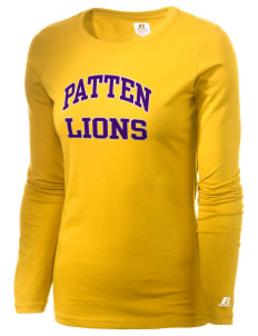 Patten University Lions  Russell Women's Long Sleeve Campus T-Shirt