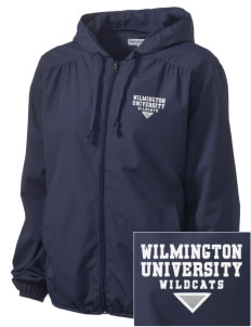 Wilmington University Wildcats Embroidered Women's Hooded Essential Jacket