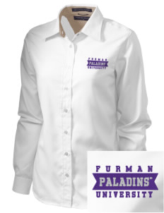 Furman University Paladins  Embroidered Women's Pima Advantage Twill