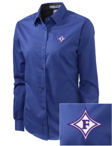 Furman University Paladins Embroidered Women's Easy-Care Shirt