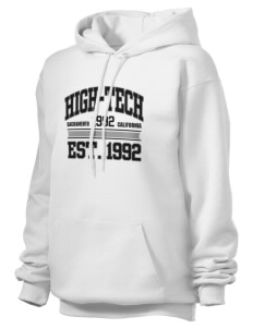 High-Tech Institute est. 1992 Unisex Hooded Sweatshirt