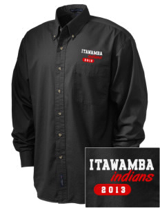 Itawamba Community College Indians Embroidered Men's Twill Shirt