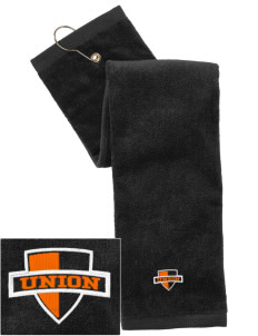 Union College  Bulldogs Embroidered Hand Towel with Grommet