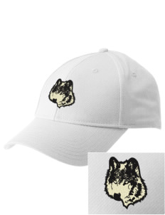 Walla Walla University Wolves  Embroidered New Era Adjustable Structured Cap