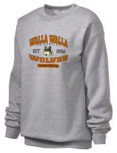 Walla Walla University Wolves Unisex Crewneck Sweatshirt