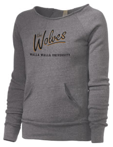 Walla Walla University Wolves Alternative Women's Maniac Sweatshirt