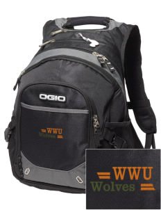 Walla Walla University Wolves Embroidered OGIO Fugitive Backpack