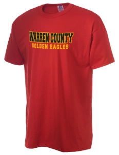 Warren County Community College Golden Eagles  Russell Men's NuBlend T-Shirt