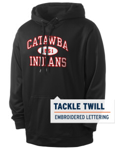 Catawba College Indians Men's Sport-Wick Fleece Hooded Pullover with Tackle Twill