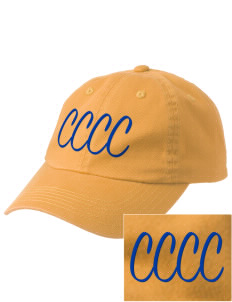 Central Carolina Community College  Cougars Embroidered Garment-Dyed Cap