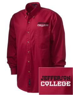 Jefferson Medical College College Embroidered Men's Twill Shirt