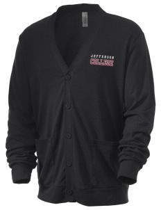 Jefferson Medical College College Men's 5.6 oz Triblend Cardigan