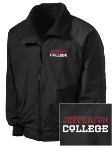 Jefferson Medical College College Embroidered Men's Fleece-Lined Jacket