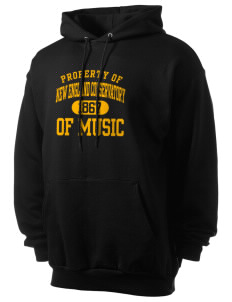 New England Conservatory of Music Penguins Men's 7.8 oz Lightweight Hooded Sweatshirt