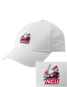 North Greenville University Crusaders  Embroidered New Era Adjustable Structured Cap