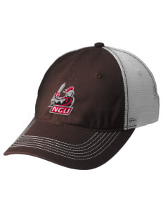 North Greenville University Crusaders Embroidered Mesh Back Cap