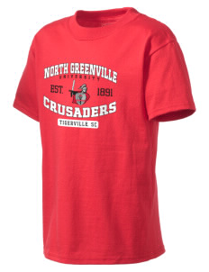 North Greenville University Crusaders Kid's Lightweight T-Shirt