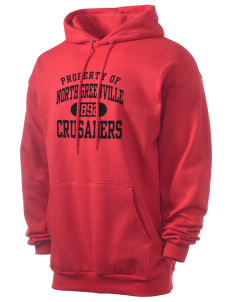 North Greenville University Crusaders Men's 7.8 oz Lightweight Hooded Sweatshirt