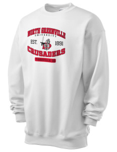 North Greenville University Crusaders Men's 7.8 oz Lightweight Crewneck Sweatshirt