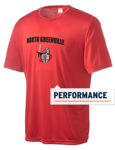 North Greenville University Crusaders Men's Competitor Performance T-Shirt