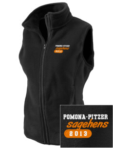 Pomona-Pitzer Athletics Sagehens Embroidered Women's Fleece Vest