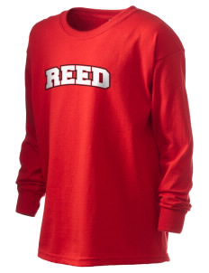 Reed College Griffins Kid's 6.1 oz Long Sleeve Ultra Cotton T-Shirt