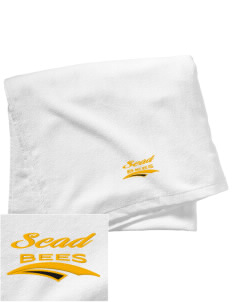 Savannah College of Art and Design Bees Embroidered Beach Towel