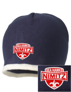Nimitz Middle School Sea Hawks Embroidered Beanie