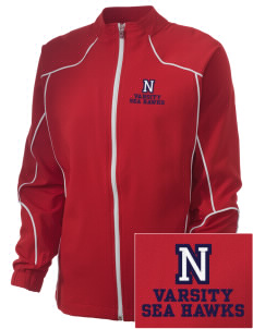 Nimitz Middle School Sea Hawks Embroidered Russell Women's Full Zip Jacket