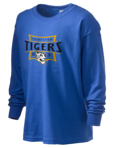 Princeton Elementary School Tigers Kid's 6.1 oz Long Sleeve Ultra Cotton T-Shirt