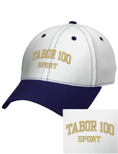 Tabor 100 Sport Embroidered New Era Snapback Performance Mesh Contrast Bill Cap