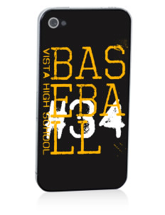 Vista High School Eagles Apple iPhone 4/4S Skin