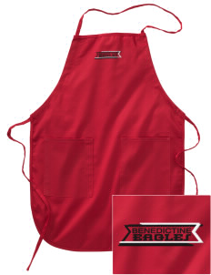 Benedictine University Eagles Embroidered Full Length Apron