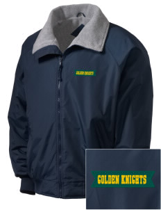 Clarkson University Golden Knights Embroidered Men's Fleece-Lined Jacket