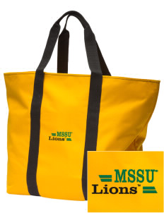 Missouri Southern State University Lions Embroidered Tote