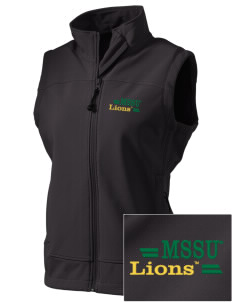 Missouri Southern State University Lions  Embroidered Women's Glacier Soft Shell Vest