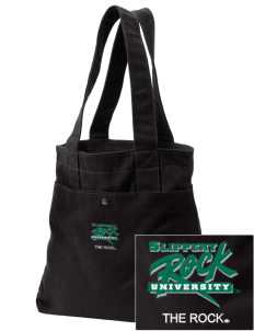 Slippery Rock University The Rock Embroidered Alternative The Berkeley Tote